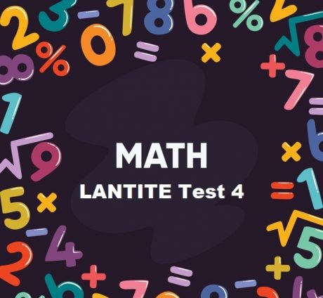 LANTITE Maths Test 4 - Free